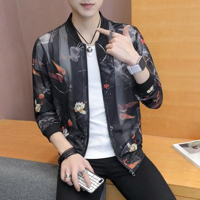 Summer Sun Protection Clothing Korean Slim Fit Bomber Jacket Women Print Hollowliilgal-liilgal