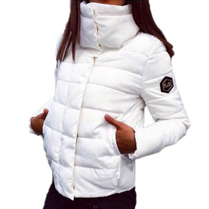 Autumn Winter Jacket Women Coat Fashion Female Down Jacket Women Parkas Casualliilgal-liilgal