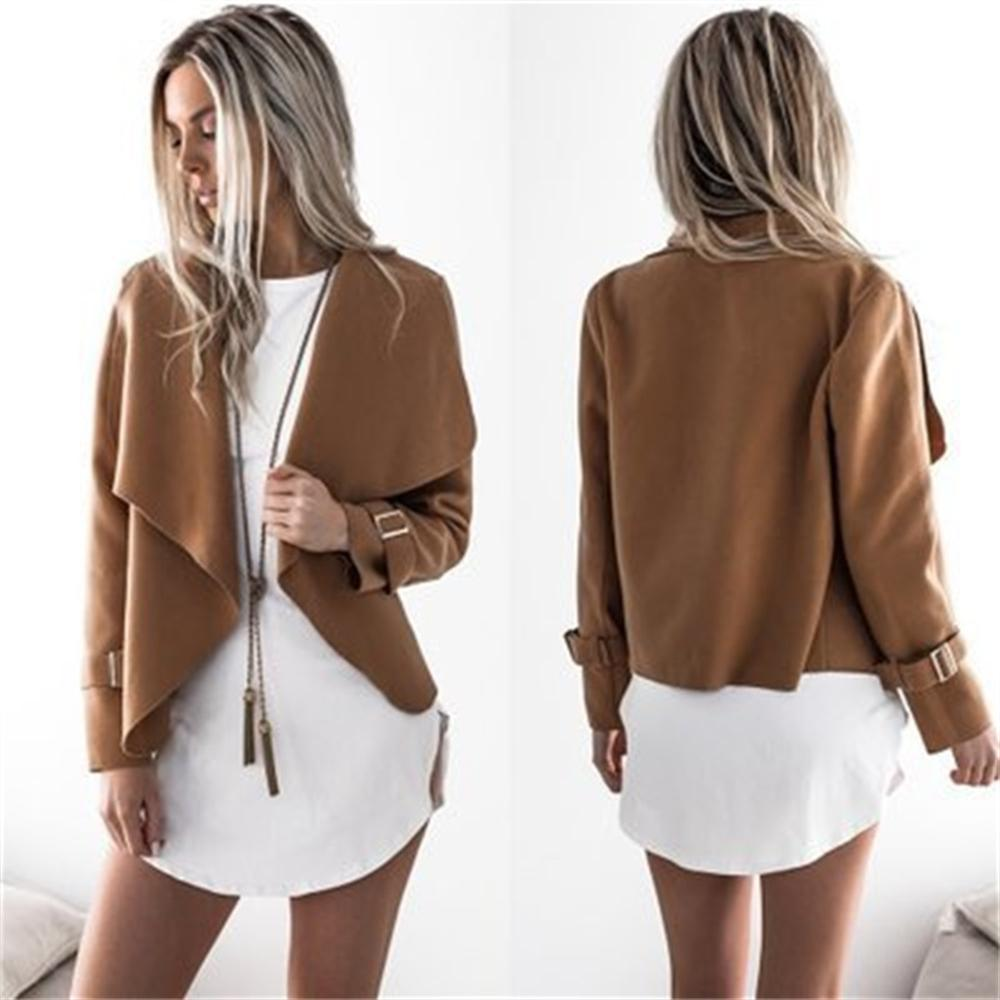 2018 Autumn Winter Women Short Wool Coat Jacket Plus Size Female Europeanliilgal-liilgal