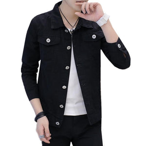 Y2047-A1366 spring autmn 2018 new Korean version fashion trend handsome men denimliilgal-liilgal