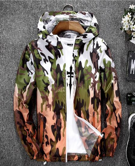 Men Light Jacket Hoodie Coats 2018 Stylish Fashion Men Women Hooded Thinliilgal-liilgal