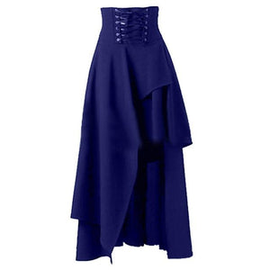 Hot Sale Long Skirt Women Fashion Lolita Strap Black Gothic Skirts Femaleliilgal-liilgal
