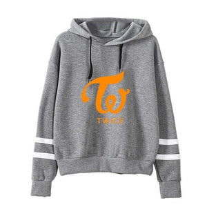 New Korean Style Kawaii Clothing Sweatshirts for Girls Twice Bts Fake Loveliilgal-liilgal