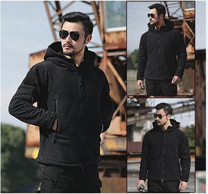 Man Fleece tad Tactical Softshell Jacket TAD Military Thermal Fleece Hoody Jacketliilgal-liilgal