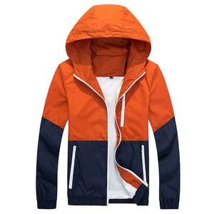 Jacket Men Windbreaker 2018 Spring Autumn Fashion Jacket Men's Hooded Casual Jacketsliilgal-liilgal