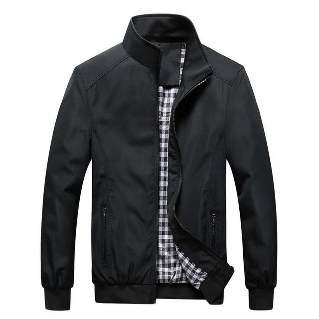 Hot Selling 2018 promotion Thin men's jacket Slim Fit casual coat businessliilgal-liilgal