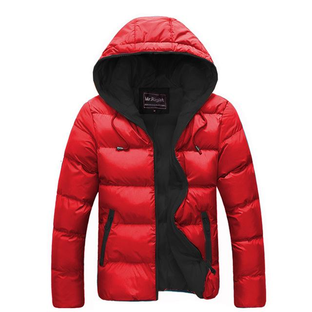 2018 Brand Men Cotton Jacket Zip Hooded Winter Outwear Coats Male Keepliilgal-liilgal