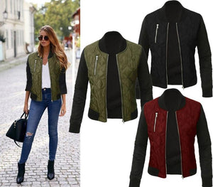 2018 Women's Winter New Solid Color Fashion t Women's Jacket Cotton Paddedliilgal-liilgal