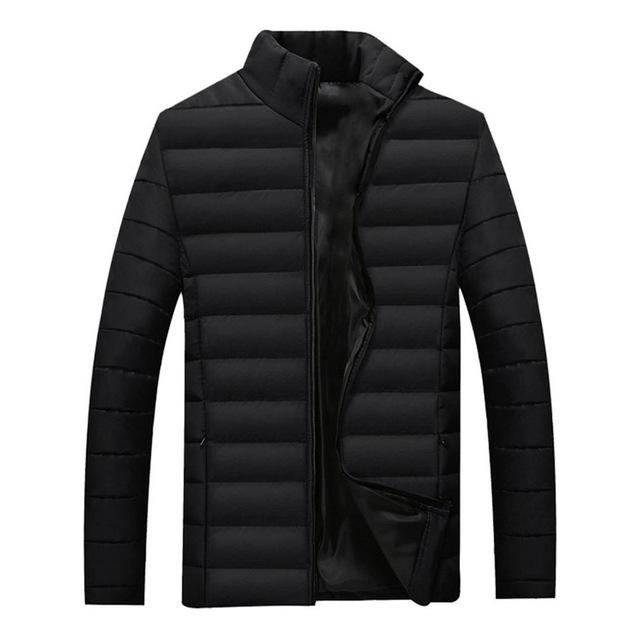 Winter Jacket Men Parka Warm Outwear 2018 Male slim mens coats Thickliilgal-liilgal