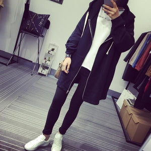 Women Sweatshirts Fashion Loose Solid Long Sleeve Hoodies Zip Up Hoodies Sweatshirtsliilgal-liilgal