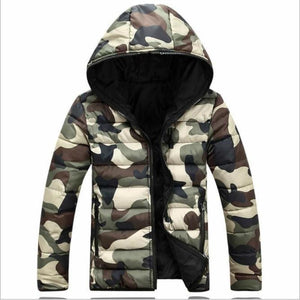 New Men Casual White Duck Down Jacket Men Autumn Winter camouflage Warmliilgal-liilgal