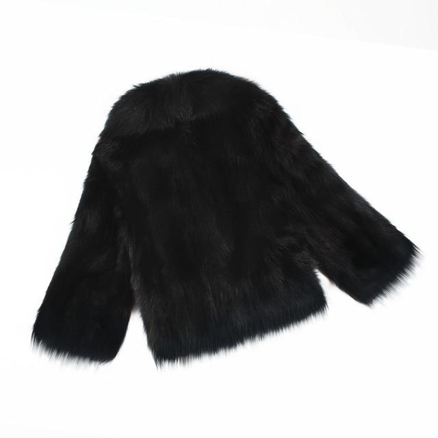 Winter Woman Clothing 2018 Fourrure Femme Veste Artificial Fur Coat Ladiesliilgal-liilgal