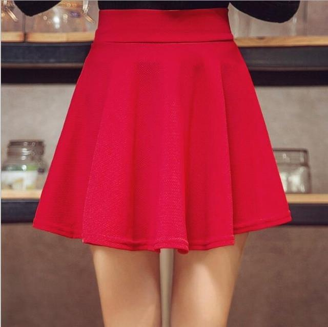Women's Skater Skirts Pleated Flared A Line Circle Stretch Waist Skater Skirtliilgal-liilgal