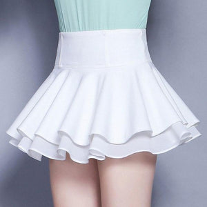 Women Short Skirt Sweet Summer Fashion Korean style sexy Female Mini pleatedliilgal-liilgal
