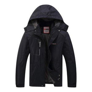 2018 Hooded Fashion Windproof Jackets Mens Autumn Winter Jacket Windbreakerliilgal-liilgal