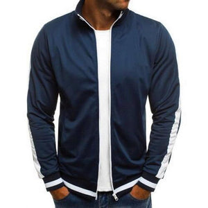 Jacket For Men's Fashion Stretch Jackets And Coat Zip Male Jacketliilgal-liilgal