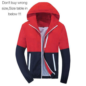 Jacket Thin Hoodie Mens Windbreaker Fashion Men Women Spring Autumn Jacket Coatsliilgal-liilgal