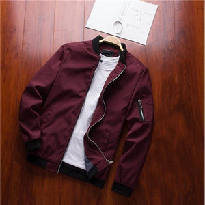 Spring New Men's Bomber Zipper Jacket Male Casual Streetwear Hip Hopliilgal-liilgal