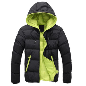 VERTVIE 2018 New Men Jackets Man Hooded Coat Male Autumn Winter Jacketsliilgal-liilgal