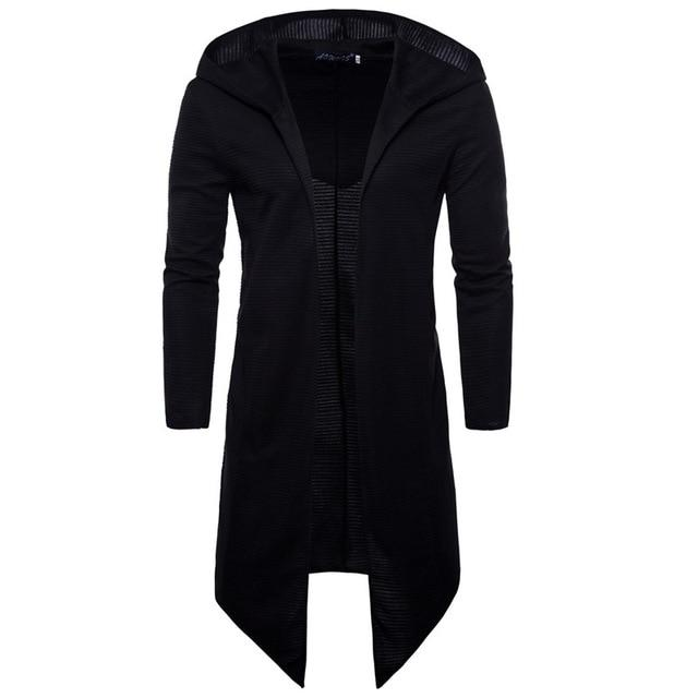 men Trench Coat Spring Fashion Casual Long Windbreaker Slim Fit Trench Coatliilgal-liilgal