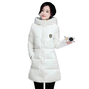 2018 New Long Parkas Female Women Winter Coat Thick Warm Cotton Hoodedliilgal-liilgal