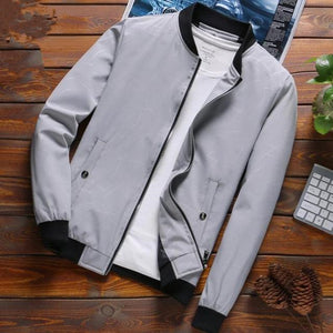 LEFT ROM 2018 Fashion men autumn slim Fit leisure jackets/male Loose andliilgal-liilgal