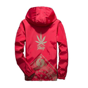 Drop Shipping Windbreaker Men Women Hooded Jacket Hip Hop Fashion Outwear USliilgal-liilgal