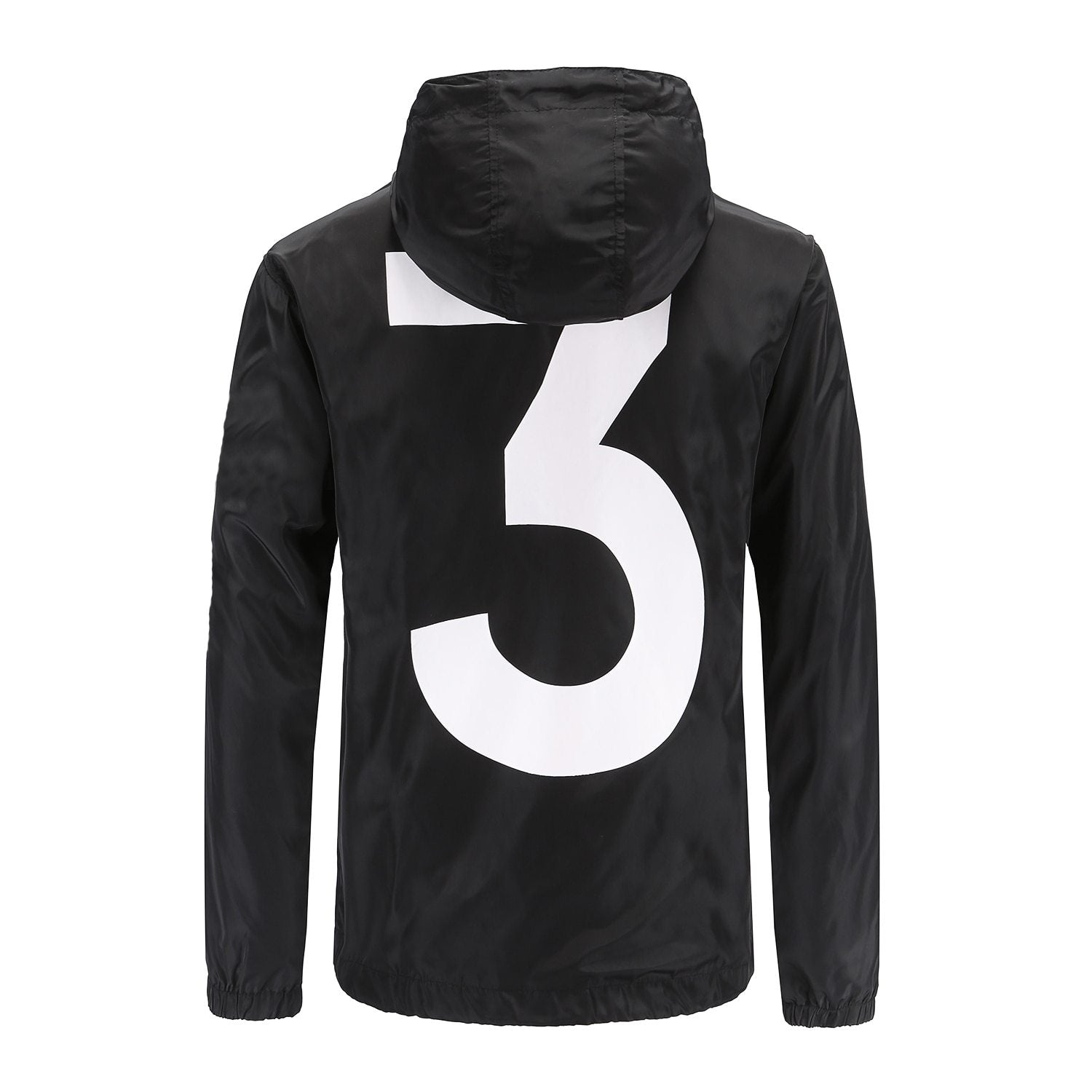 BLACK WHITE fashion Windbreaker No.3 Spring Summer Jacket Men Women Brand Fashionliilgal-liilgal