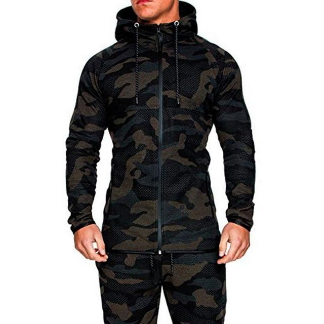 Hot Selling New Men Fashion Camouflage Jacket Autumn Male Hooded Warmliilgal-liilgal