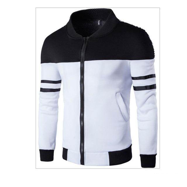 Men's jackets NEW Splicing color jacket Fashion 1Pcs jacketliilgal-liilgal