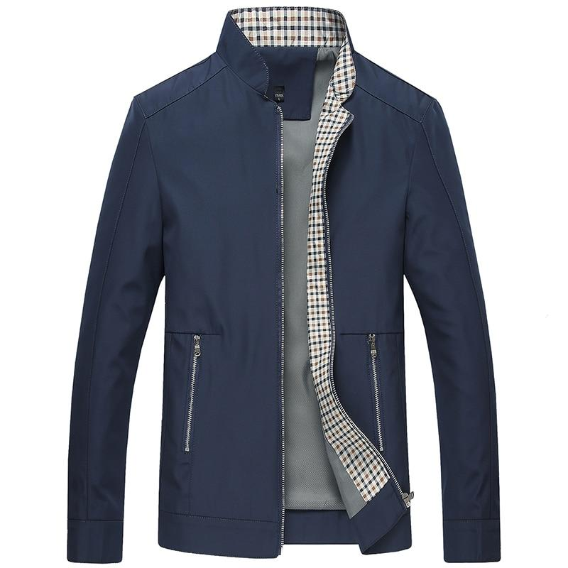 ZEBERY Men's Business Casual Jacket High Quality Men's Coat Slim Stand Collarliilgal-liilgal