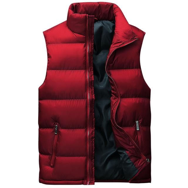 Vest Men New Stylish Plus Size L-8XL Autumn Winter Warm Sleeveless Jacketliilgal-liilgal