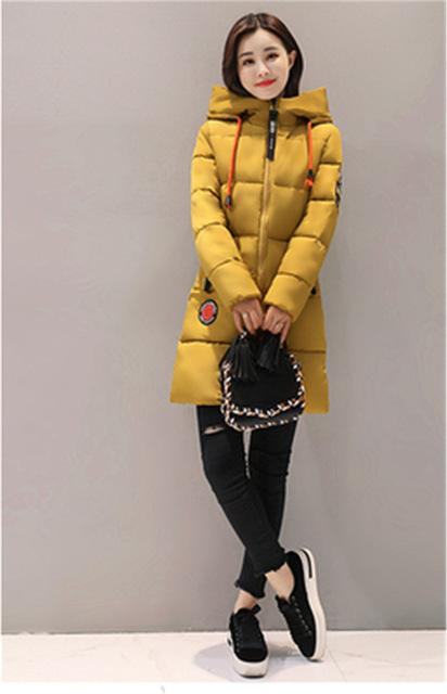 Parka Women 2018 Winter Jacket Women Coat Hooded Outwear Female Parka Thickliilgal-liilgal