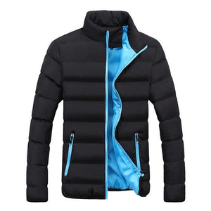 Brand Clothing Hot Mens Casual Coat Male Stand Collar Cotton Coatliilgal-liilgal