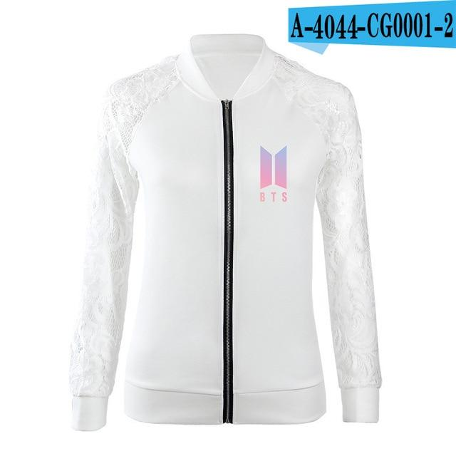 jacket Women K-pop 2018 Hip-Hop Bangtan Boys jackets Jimin Loveliilgal-liilgal