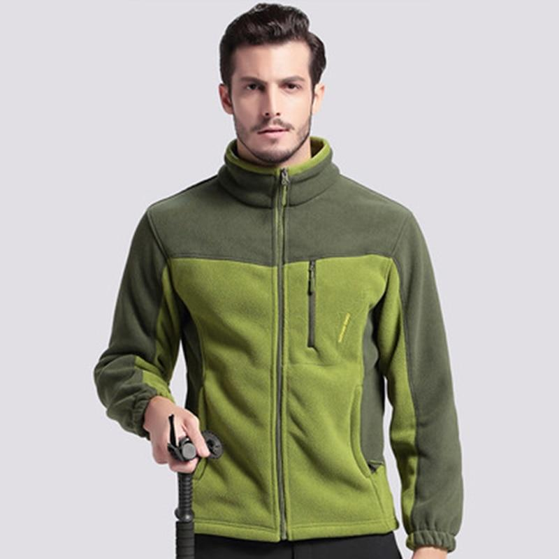 Winter Military Fleece Jacket Men US Army Polartec Windbreaker Clothes Male Multiliilgal-liilgal