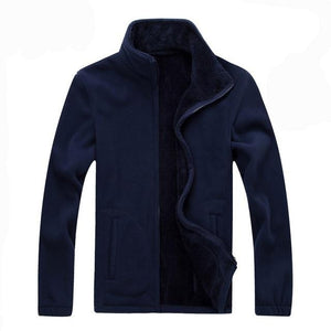 Men Jacket 2018 Autumn Casual Softshell Fleece Jackets Men Warm Sweatshirt Thermalliilgal-liilgal