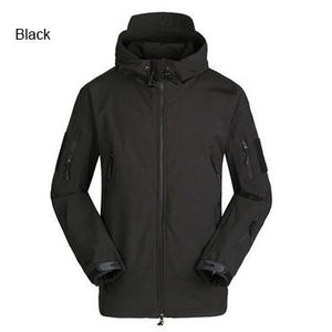 TAD Tactical Softshell Jacket Men Army Waterproof Huntingclothes Jackets Men's Military Jacketliilgal-liilgal