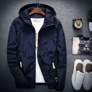 Dropshipping Young Men Jacket and Coats Clothing Windbreaker Fashion Mens Jeansliilgal-liilgal