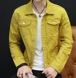 new 2018 autumn fashion denim jacket of cultivate one's morality men liilgal-liilgal