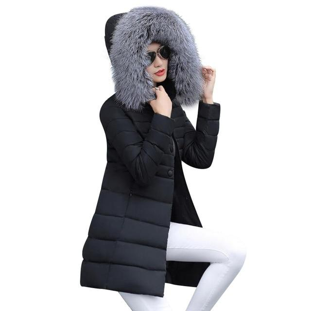 womens winter jackets and coats 2018 Parkas for women 4 Colors Waddedliilgal-liilgal