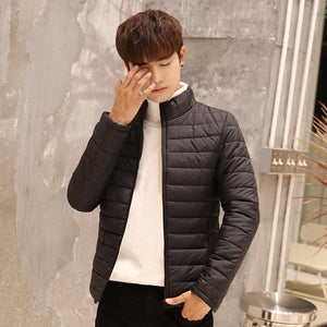 2018 Brand Clothes Winter Parka Hot Sale Solid Mens Cotton Jackets Mensliilgal-liilgal