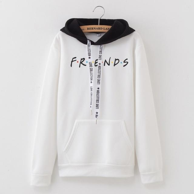 U.S. Classical TV series friends Hoodie Women Men girls patchwork Sweatshirt Fleeceliilgal-liilgal
