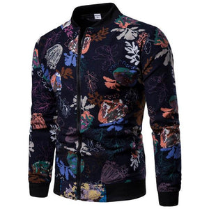 Bomber Jacket Men 2018 Autumn Mens Pilot Jacket Sportswear Bomber Jacket Fashionliilgal-liilgal