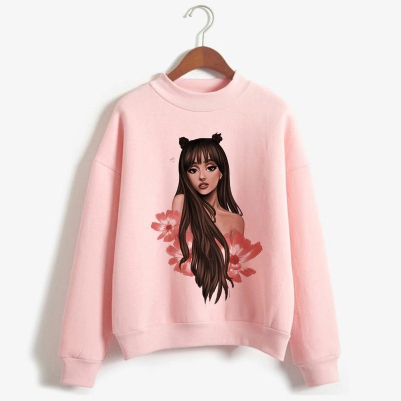 Ariana Grande Sweatshirt No Tears Left To Cry Hoodie Women Cartoon Printliilgal-liilgal