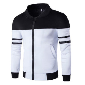 Jacket Coat Men Fashion Autumn Men's Clothing Zipper Sportswear Long Sleeve Coatliilgal-liilgal