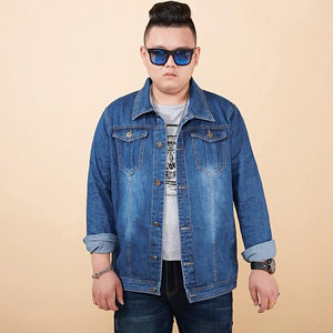 Denim Jackets Mens 7XL 6XL 5XL 4XL Plus Size Jean Jacket Forliilgal-liilgal