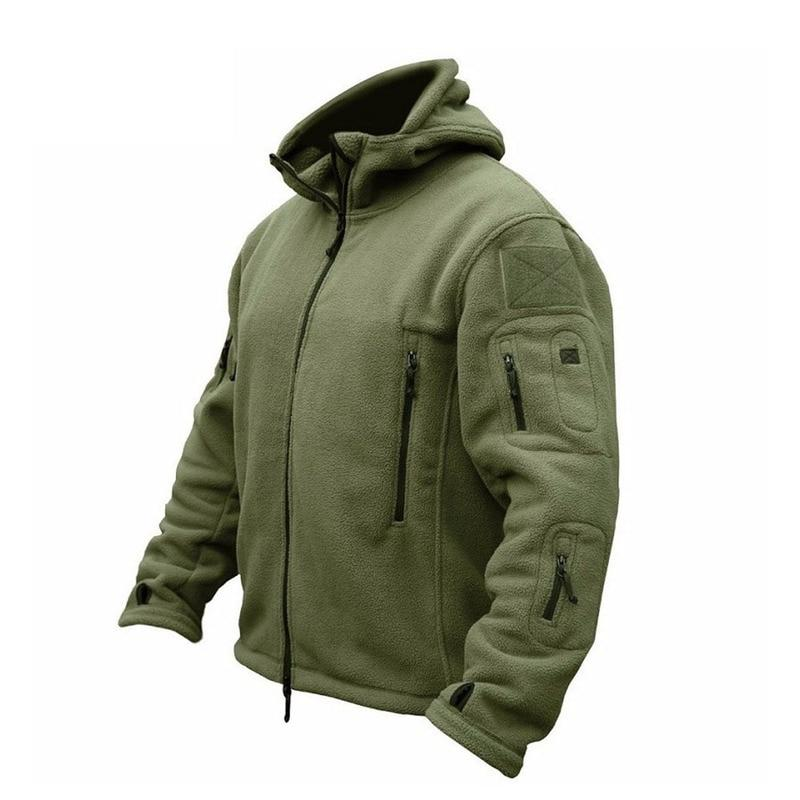 Brand new Military Men Fleece Tactical Jacket overcoat Men Outdoor Polartecliilgal-liilgal