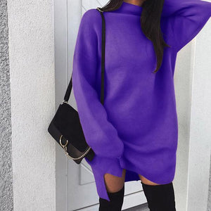 2018 Brand New Fashion Top Women Ladies High Collar Plain Batwing Sleeveliilgal-liilgal
