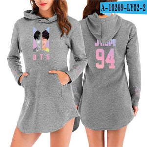 Drop shopping 2018 New KPOP women hoodies bts V JIMIN SUGAliilgal-liilgal